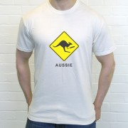 Aussie Cricket Kangaroo T-Shirt