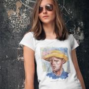 Ben Stokes Van Gogh T-Shirt