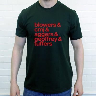 Blowers & CMJ & Aggers & Geoffrey & Tuffers