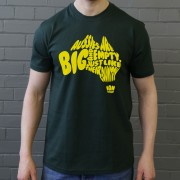 "Ian Botham ""Big And Empty"" Quote T-Shirt"