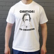 Caution: 70s Cricketer T-Shirt