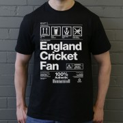 England Cricket Fan Packaging T-Shirt