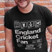 England Cricket Fan Packaging T-Shirt