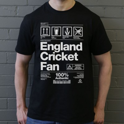 England Cricket Fan Packaging