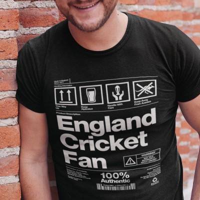 England Cricket Fan Packaging