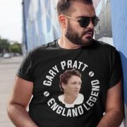 Gary Pratt: England Legend T-Shirt