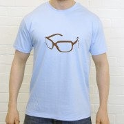"Henry Blofeld ""Blowers"" Glasses T-Shirt"