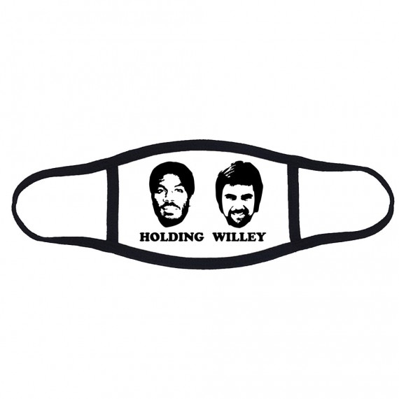 Holding and Willey Face Mask T-Shirt