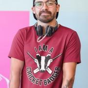 I Am A Cricket Badger T-Shirt