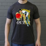 Out! Fast Bowler In Action T-Shirt