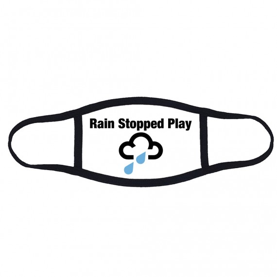 Rain Stopped Play Face Mask T-Shirt