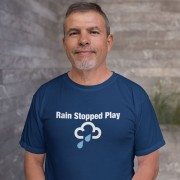 Rain Stopped Play T-Shirt
