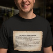 The Laws of Cricket (Abridged) T-Shirt