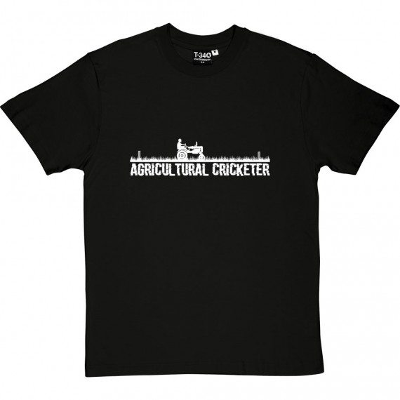 Agricultural Cricketer T-Shirt