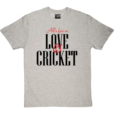 All's Fair In Love And Cricket