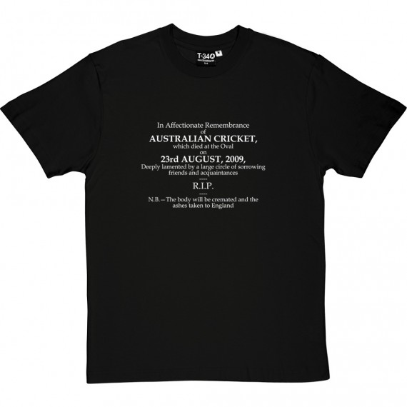 Ashes Obituary 2009 T-Shirt