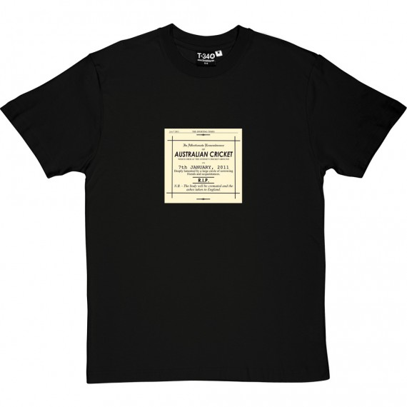 Ashes Obituary 2011 T-Shirt