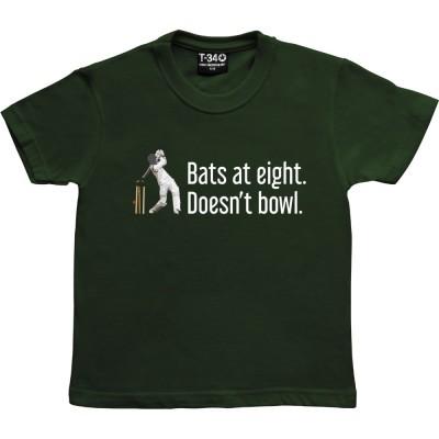 Bats At Eight; Doesn't Bowl