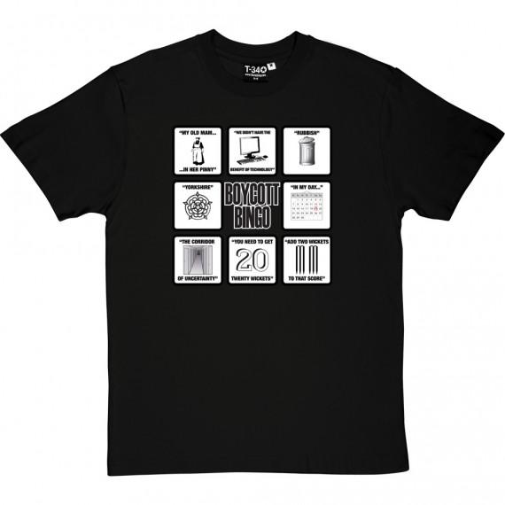 Boycott Bingo T-Shirt