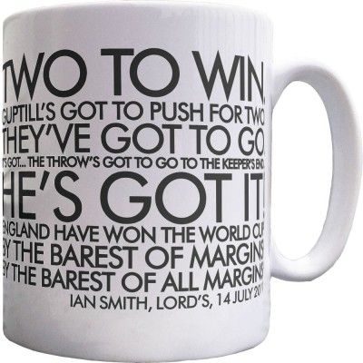 "Ian Smith ""By The Barest Of Margins!"" Ceramic Mug"