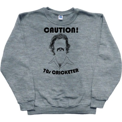 Caution: 70s Cricketer