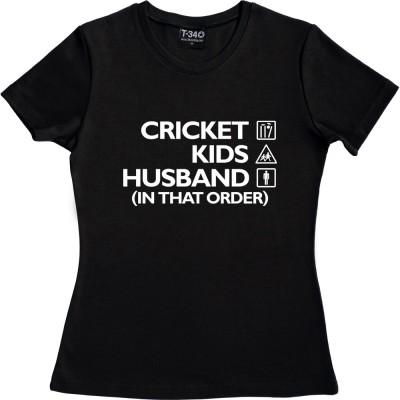 Cricket, Kids, Husband (In That Order)