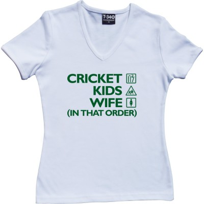 Cricket, Kids, Wife (In That Order)