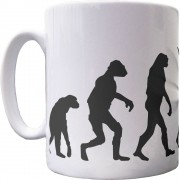 The Evolution of Cricket Ceramic Mug