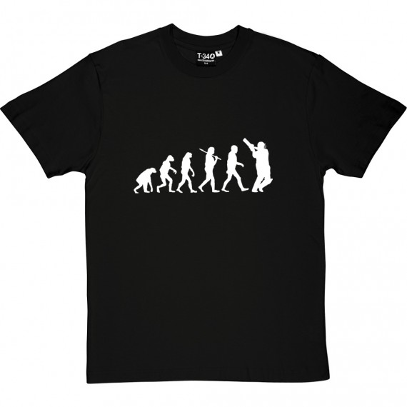 The Evolution Of Cricket T-Shirt