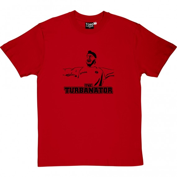 "Harbhajan Singh ""The Turbanator"" T-Shirt"