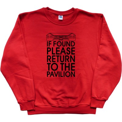 If Found Please Return To The Pavilion