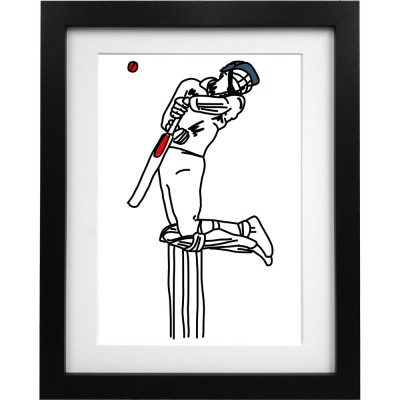 Michael Atherton Sketch Art Print
