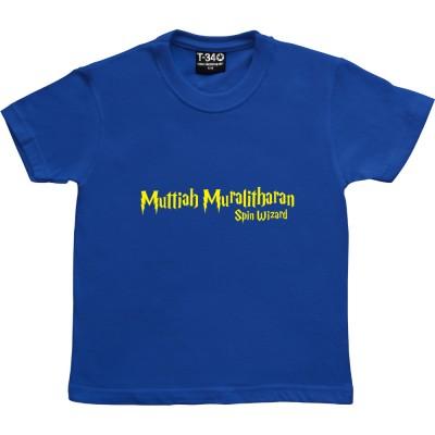 "Muttiah Muralitharan ""Spin Wizard"""