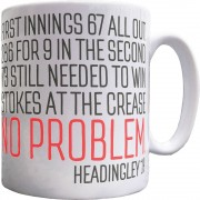 Ben Stokes At The Crease: No Problem Ceramic Mug