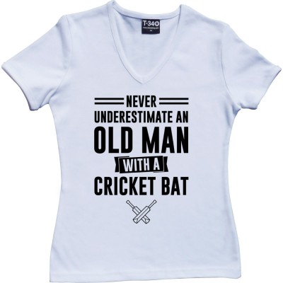 Never Underestimate An Old Man With A Cricket Bat