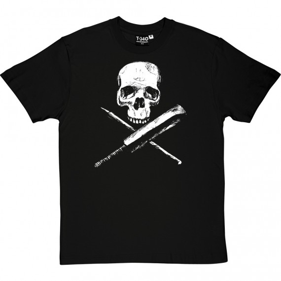 Skull, Bat and Stump T-Shirt
