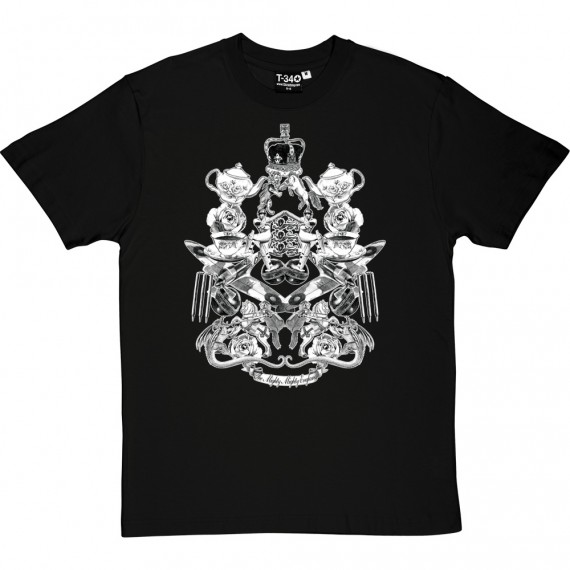 The Mighty, Mighty England (Black and White) T-Shirt