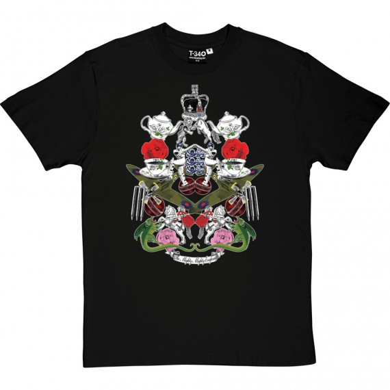 The Mighty, Mighty England (Full Colour) T-Shirt