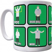 Cricket Umpires' Signals Ceramic Mug
