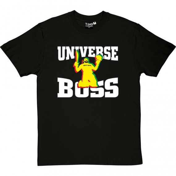 Chris Gayle: Universe Boss T-Shirt