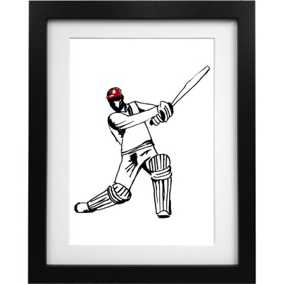 Viv Richards Sketch Art Print
