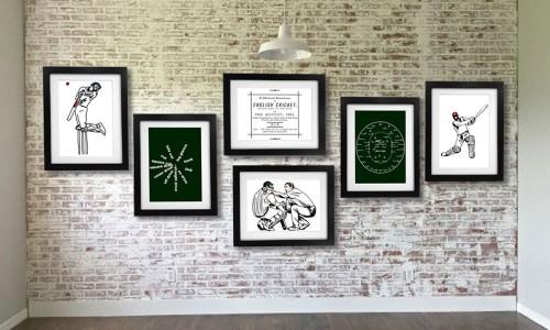 Cricket Art Prints